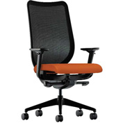 HON® HONN103CU46 Nucleus Adjustable Arm Task Chair Tangerine