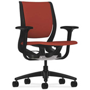 HON® Ergonomic Task Chair - Fabric - Mid Back - Poppy - Purpose Series