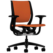 HON® Ergonomic Task Chair - Fabric - Mid Back - Tangerine - Purpose Series