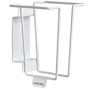 Horizon Mfg. Sharps Container Rack, Holds 1 Quart Container Size, White