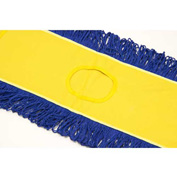 """Microworks 24"""" Microfiber Canvas Back Dust Mop, Yellow - 2506-MFDM-24Y"""