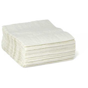 "Taskbrand Scrim Quarterfold 12"" x 13"", White 50 Wipes/Bag 18/Case - N-E025QPW"