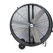 "Comfort Zone® CZMC42 Industrial Drum Fan 42"" 3 Speeds; High Velocity"
