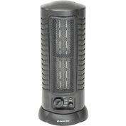 Comfort Zone® Oscillating Citadel Ceramic Tower Fan Heater CZ488 - 800/1500 Watt