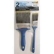 2-Piece Set 100% Poly Paint Brush - 1984 - Pkg Qty 12