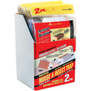 Mouse & Insect Glue Board Trap 2 Pack - 2MB - Pkg Qty 36