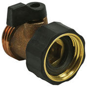 AquaPlumb® 572 One-Way Brass Hose Shut Off