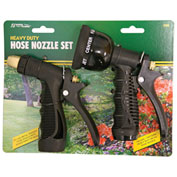 AquaPlumb® 590 2 Pc. Heavy Duty Hose Nozzle Set, Black