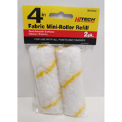 "4"" Yellow-Stripe Mini Roller Cover, 2 Pack - 79754 - Pkg Qty 6"