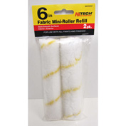 "6"" Fabric Mini-Roller Refill, 2 Pack - 79757 - Pkg Qty 12"