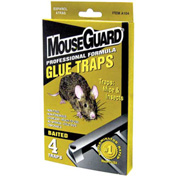 Mouse Guard Professional Grade Mouse Glue Trap 4 Pack - A104N - Pkg Qty 24