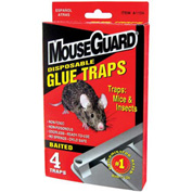 Mouse Guard Disposable Mouse Glue Traps 4 Pack - A1104N - Pkg Qty 24