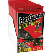 Rat Guard Disposable Rat Glue Trap 2 Pack - A1403PDQ - Pkg Qty 12