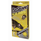 Rat Guard Professional Formula Rat Glue Traps 2 Pack - A402N - Pkg Qty 12