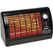 Comfort Zone® Electric Radiant Heater Shop CZ330 1320W 4505 BTU
