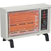 Comfort Zone® Electric Radiant Heater CZ550 1250 / 1500W 5120 BTU