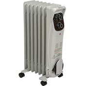 Comfort Zone® Heater Deluxe Oil Filled Radiator CZ8008 - 1500/900/600 Watt