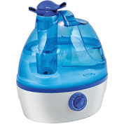 Comfort Zone® Dual-Nozzle Humidifier CZHD24 Ultrasonic Cool Mist .6 Gallon