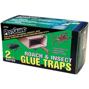 Pest Guard® Disposable Roach & Insect Glue Trap 2 Pack - GTR2 - Pkg Qty 15