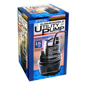AquaPlumb® SUP14A 1/4 HP Automatic Water Sensing Submersible Utility Pump - Pkg Qty 4