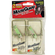Mouse Guard Wooden Mouse Trap 2 Pack - TM1 - Pkg Qty 12