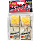 Mouse Guard Wooden Mouse Trap W/ Bait Pedal 2 Pack - TM1EZ - Pkg Qty 12