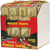 Mouse Guard Wooden Mouse Trap 4 Pack - TM2X12PDQ - Pkg Qty 12