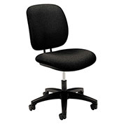 HON® Fabric Task Chair Swivel - Black - ComforTask Series