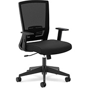 basyx® by HON® Task Chair with Mesh Back - Fabric - Black