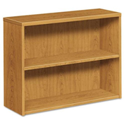 HON® Bookcase Two-Shelf Harvest - 10500 Series