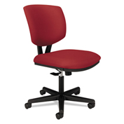 HON® Volt Series Task Chair Pneumatic Swivel Tilt Tension Tilt Lock Crimson