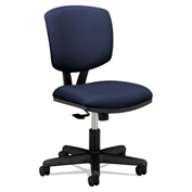 HON® Task Chair with Arms and Synchro Tilt - Fabric - Navy - Volt Series