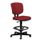 HON® Volt Task Stool - Fabric -  Crimson