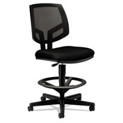 HON® Volt Mesh Task Stool with Armrest - Fabric - Black