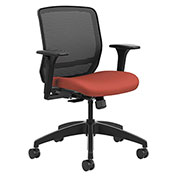 HON® Mesh Mid-Back Task Chair - Poppy - Quotient Series