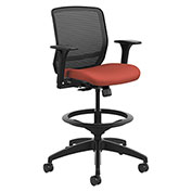 HON® Mesh Mid-Back Task Stool - Poppy - Quotient Series