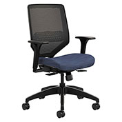 HON® Mesh Back Task Chair - Midnight - Solve Series