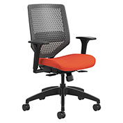 HON® ReActiv Back Task Chair - Bittersweet/Charcoal - Solve Series