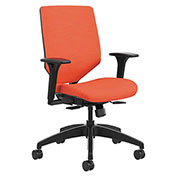 HON® Upholstered Back Task Chair - Bittersweet - Solve Series
