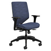 HON® Upholstered Back Task Chair - Midnight - Solve Series
