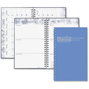 "House of Doolittle™ Academic Planner 8"" x 5"" x 1/2"" Blue"