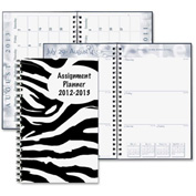 "House of Doolittle™ Student Assignment Planner 8"" x 5"" x 1/2"" White"