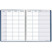 "House of Doolittle™Teacher's Planner 50907, 11"" x 8-1/2"", Blue/White, 1 Each"