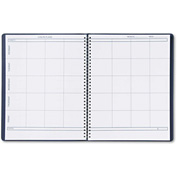 "House of Doolittle™Lesson Plan Book 51007, 11"" x 8-1/2"", White, 1 Each"