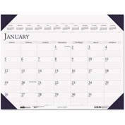 House of Doolittle™ Executive Monthly Desk Pad Calendar, 24 x 19, 2017
