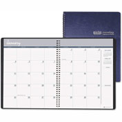 House of Doolittle Ruled Monthly Planner, 14-Month December-January, 8-1/2 x 11, Blue, 2016-2017