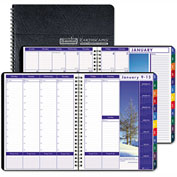 House of Doolittle Earthscapes Weekly/Monthly Planner, 8-1/2 x 11, Black, 2017