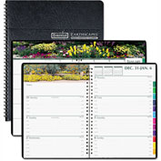 House of Doolittle Gardens of the World Weekly/Monthly Planner, 7 x 10, Black, 2017