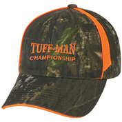 Customized Realtree™ And Mossy Oak® Blaze Camouflage Cap