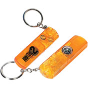 Custom Keychains Whistle, Light & Compass Key Chain